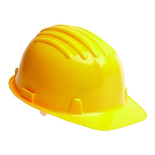 Warrior Yellow Safety Helmet